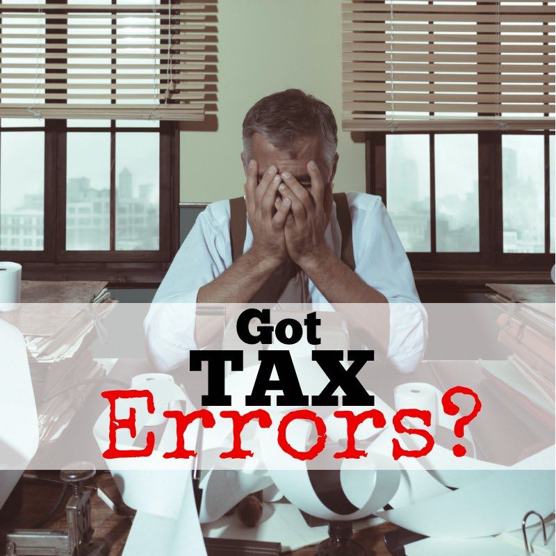 Amended Tax Return